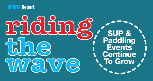 Standup paddle boarding event venues for competitions