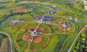 The Elizabethtown Sports Park and Athletx Sports Group partnership continues to grow with the additional partnership of TravelBall Select (TBS).