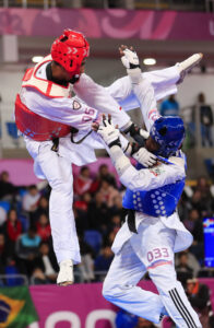 Taekwondo is as much about discipline as athletic ability.