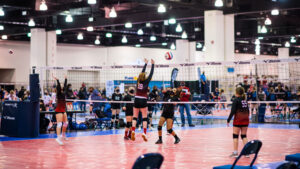 Milwaukee's Wisconsin Center has hosted several volleyball tournaments this month, leading up to the launch of Sports Milwaukee, a new division of Visit Milwaukee.