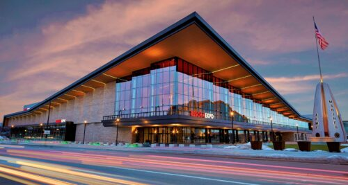 Green's Bay $93 million Resch Expo, located next to the iconic Lambeau Field, is now open for business.