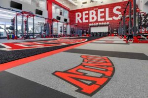University of Nevada, Las Vegas Rebels have made significant upgrades to the training facilities at the team's Fertitta Football Complex.