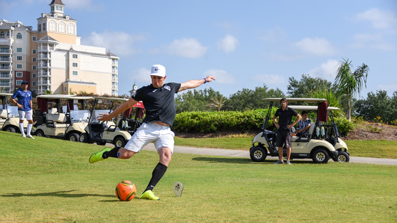 The U.S. FootGolf Open returns to Reunion Resort and Golf Club in Kissimmee, Fla., this weekend. The 2020 event was cancelled due to COVID-19.