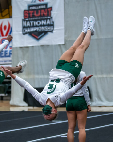 In addition to an annual training conference each June, USA Cheer runs college recruiting combines in the fall.